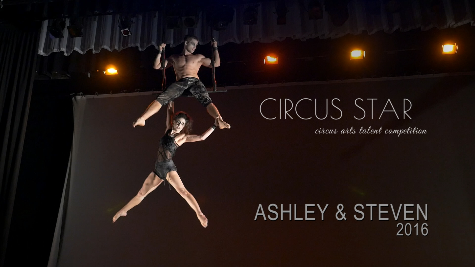 Ashley + Steven, Circus Star USA 2016 performers