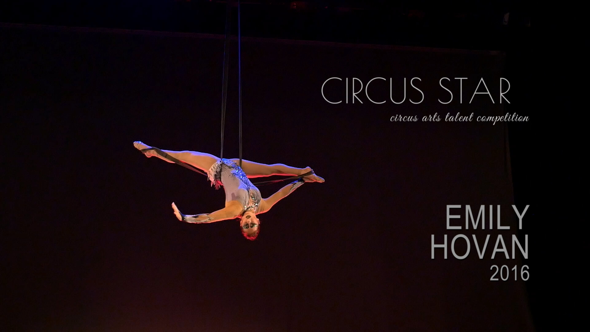Emily Hovan, aerial straps, Circus Star USA 2016