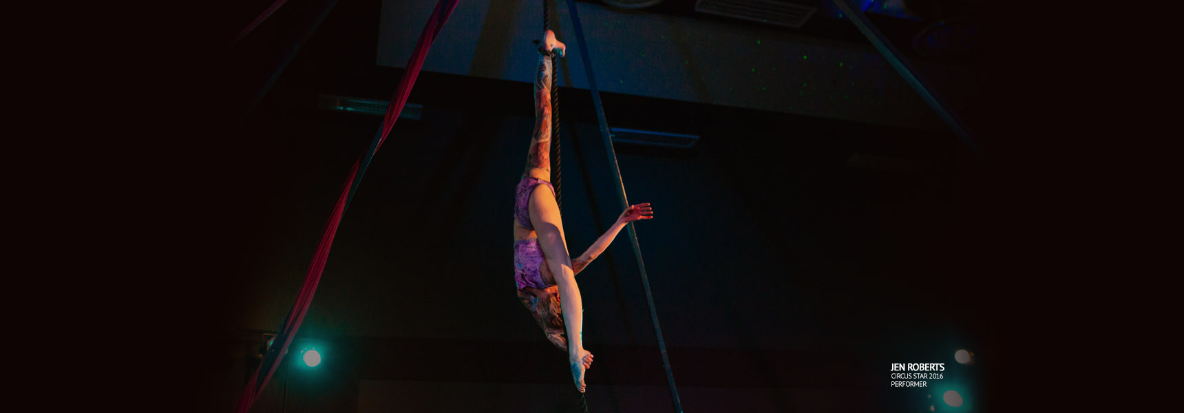 Jen Roberts, rope, Circus Star USA 2016 performer