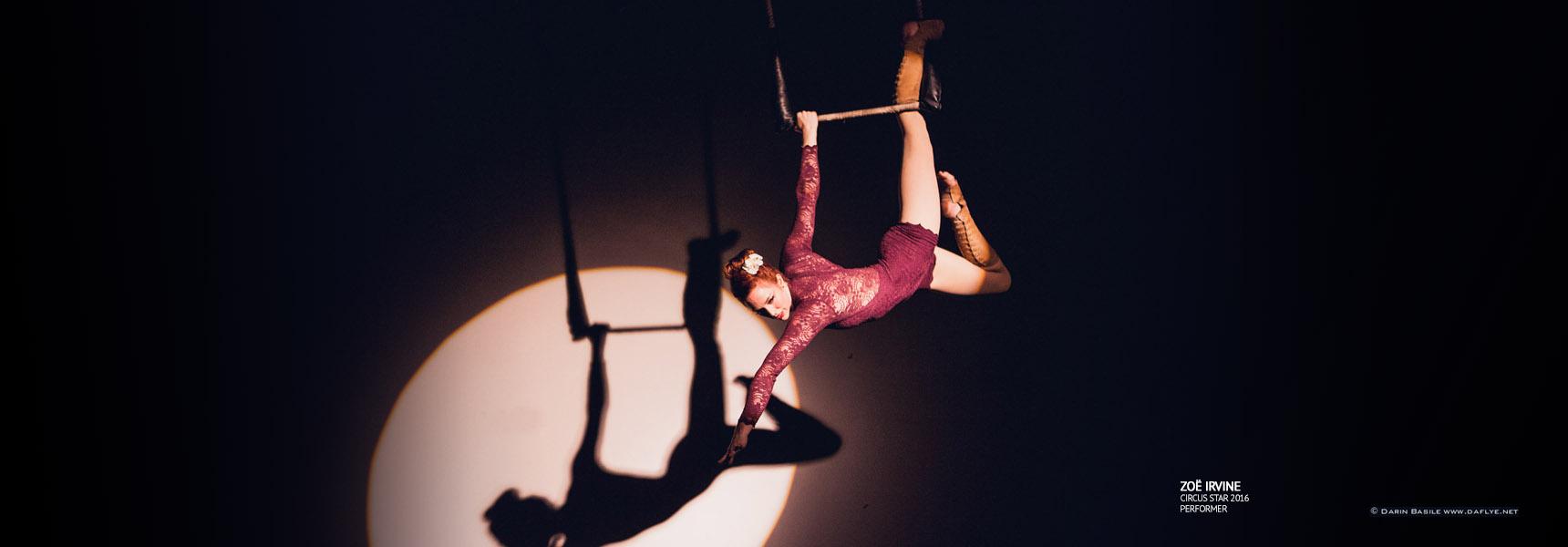 Zoë Irvine, Circus Star USA 2016 performer