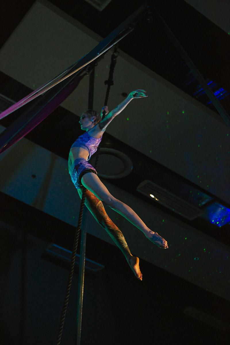 Jen Roberts, rope, Circus Star 2016 performer