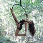 Lyndsey Gago, aerial hoop, Circus Star 2016 performer