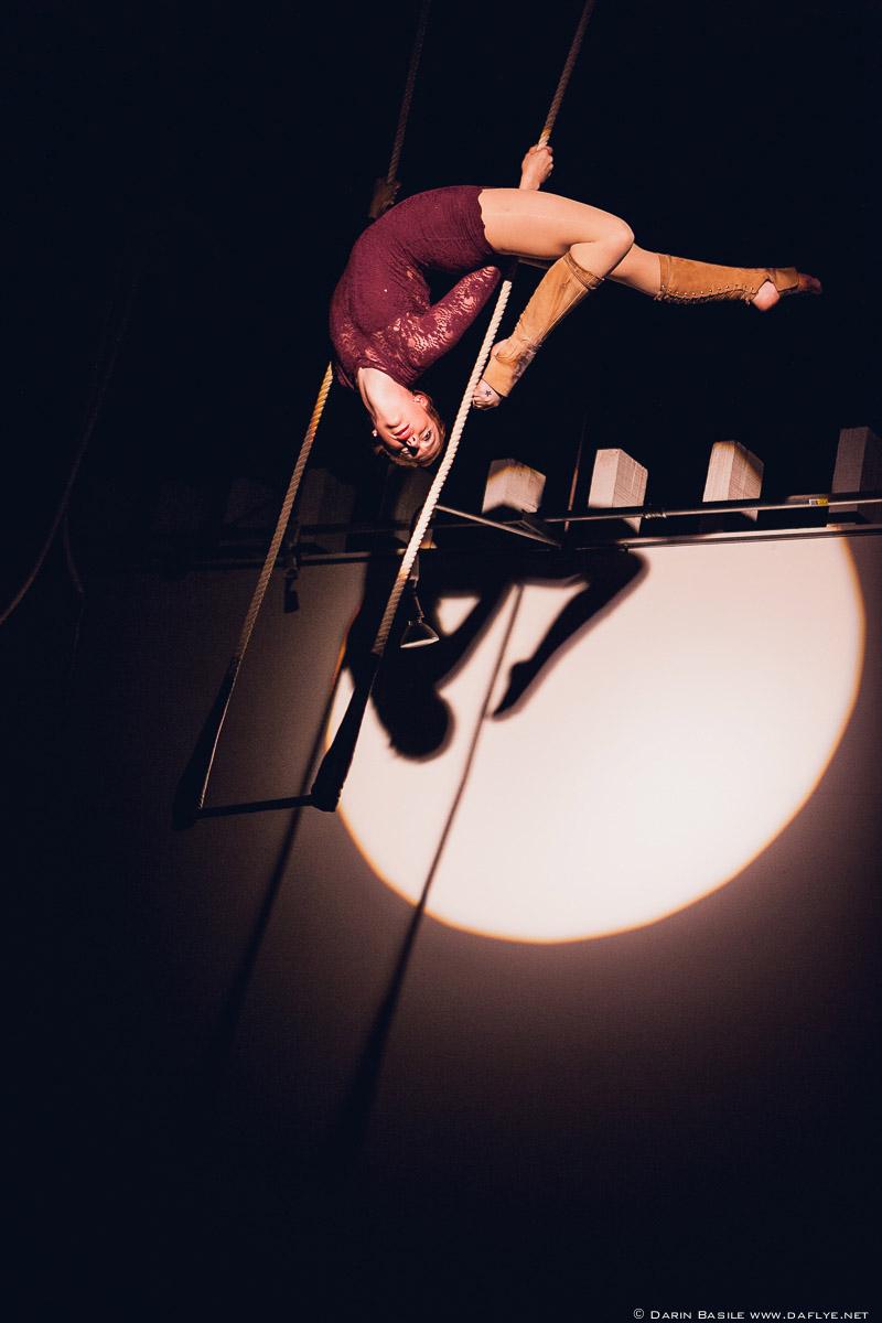 Zoë Irvine, Circus Star 2016 performer