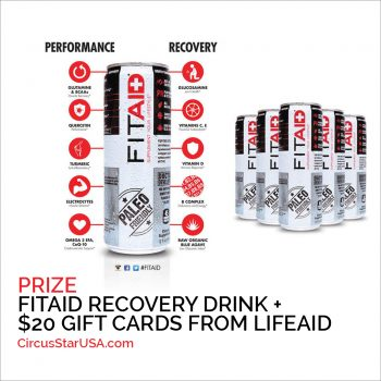 FITAID by LIFEAID, Circus Star USA 2017 sponsor