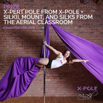 Circus Star USA prize, X-Pole and The Aerial Classroom