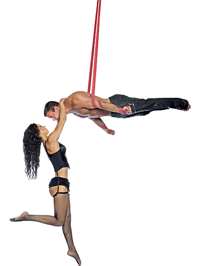Omri and Paulina, Circus Star USA 2017 performer
