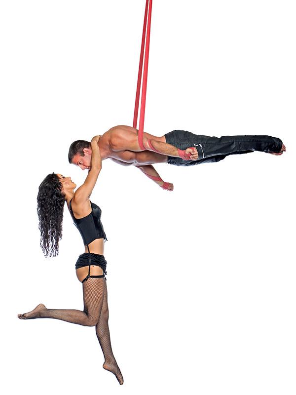 Omri and Paulina, Circus Star USA 2017 performer