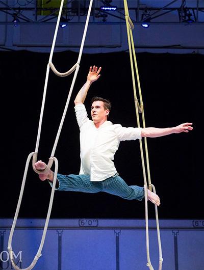 Circus Star USA 2018 performer, Richard Cameron Morneau
