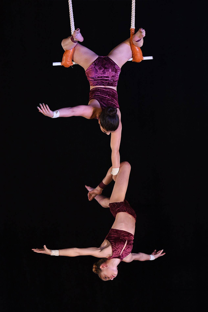 Circus Star USA 2018 performers, Ava and Sofia